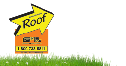 Interlock Metal Roofing Job Sign