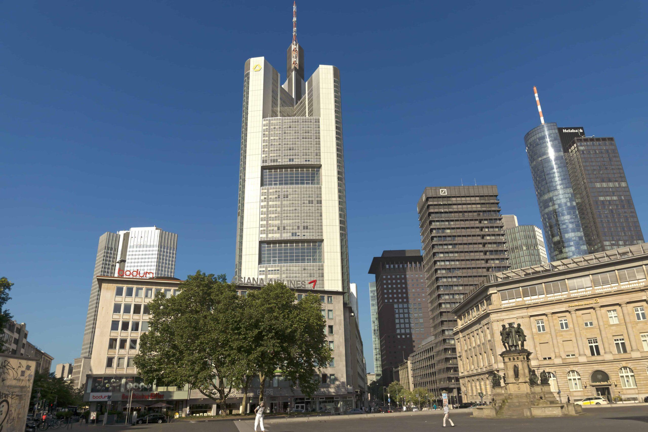 Aluminum Building — The Commerzbank tower