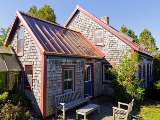 Antigonish, NS Canada - Solid Copper Standing Seam