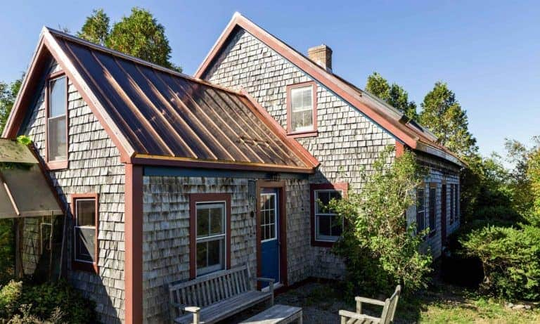 Antigonish, NS - Solid Copper Standing Seam