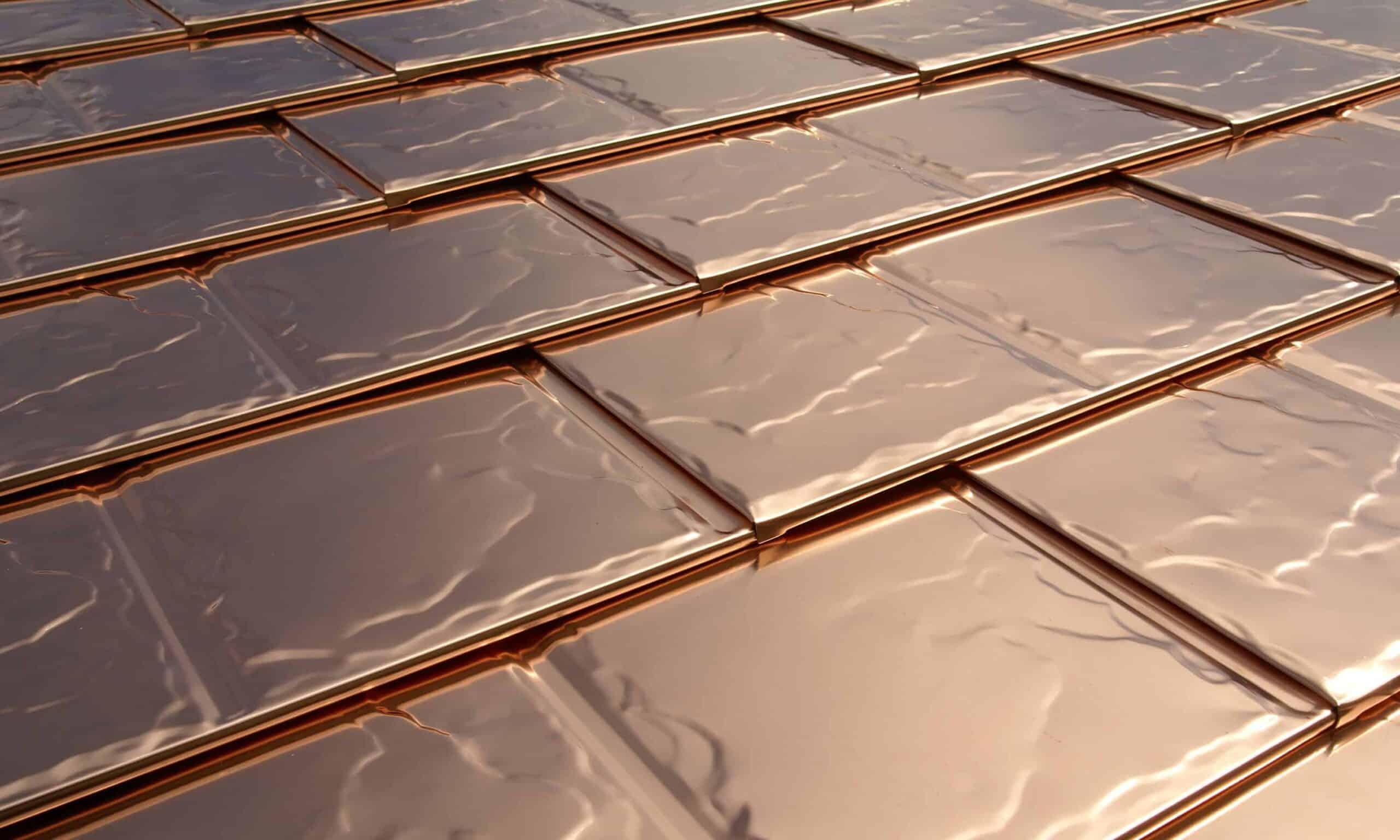 Copper Roofing Interlock Metal Roofing