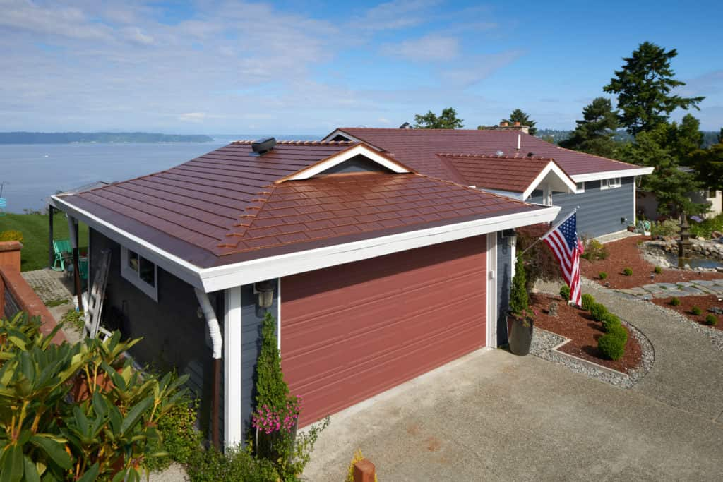 Cedar Shingles Interlock Metal Roofing