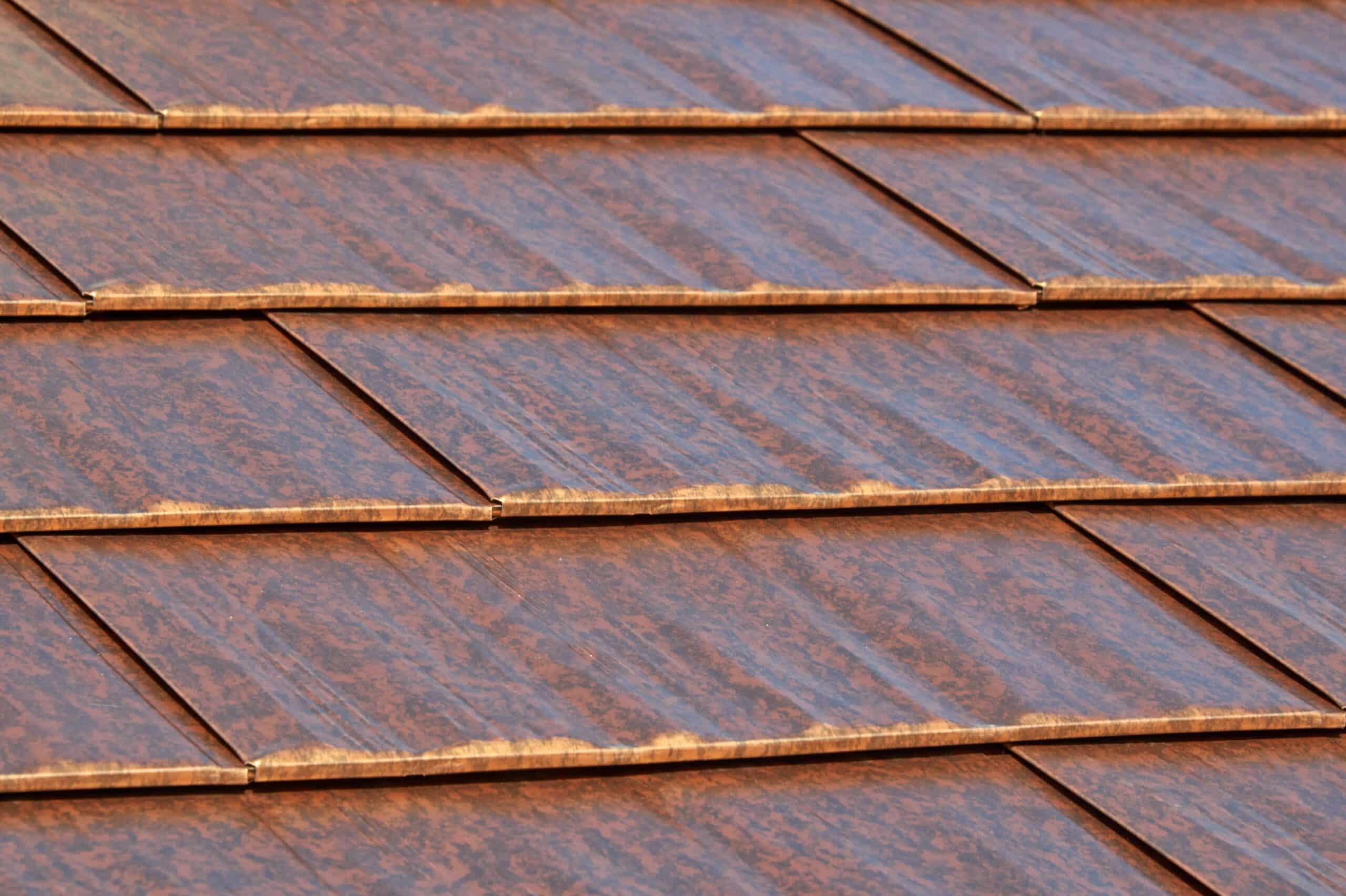 Cedar Shingles Interlock Metal Roofing