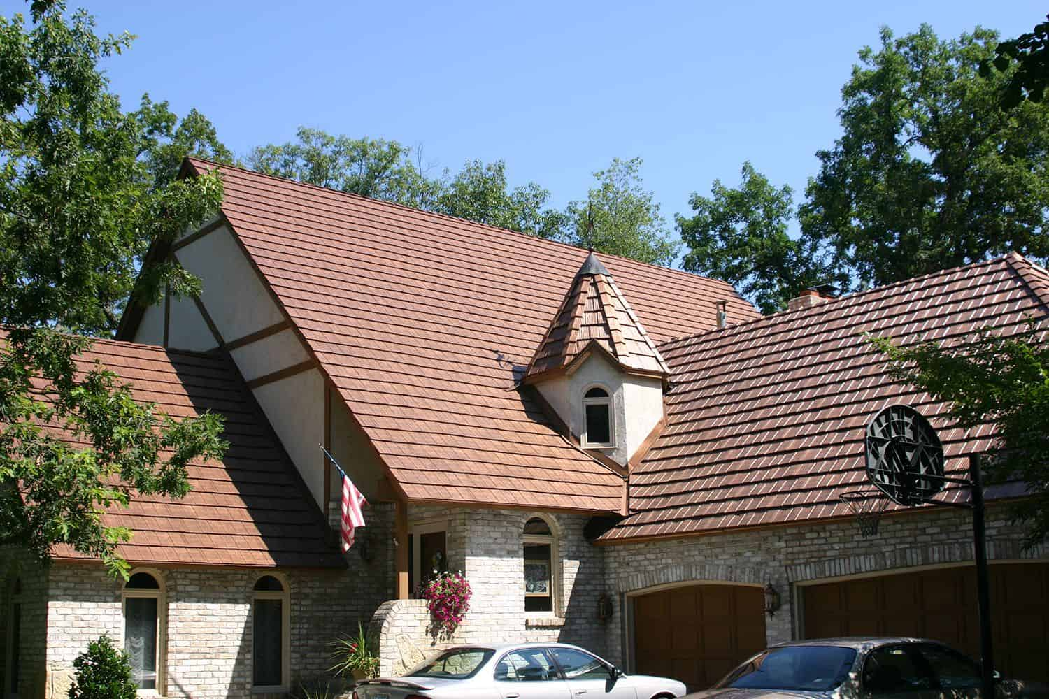 Shake Interlock Metal Roofing