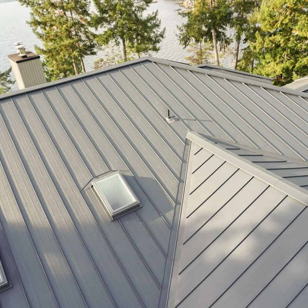 Standing Seam Interlock Metal Roofing