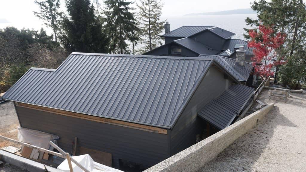 Interlock Standing Seam Roof Panels Saltwater Garage