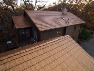 Bloomington, MN - Metal Aged Copper Shake Roof