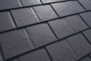 Slate Roofing - Weathered Interlock roof shingles