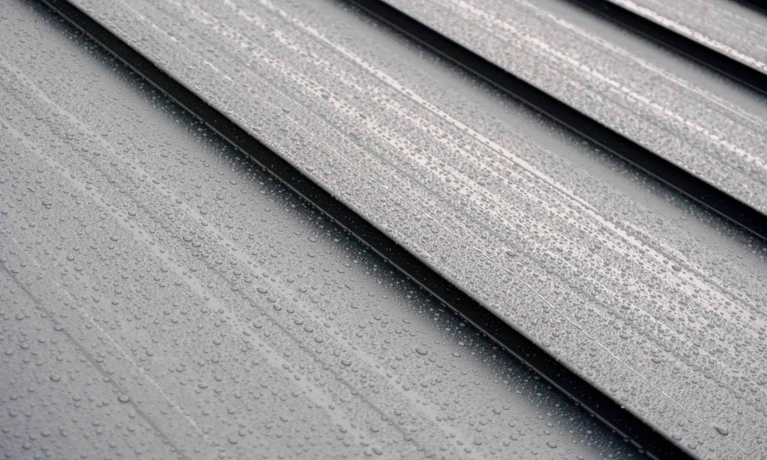 Metal Standing Seam Roof made from Aluminum