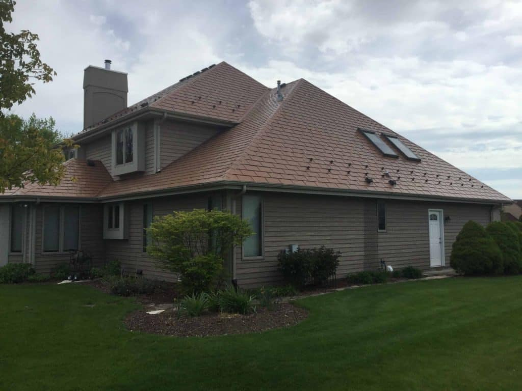 Franklin Wisconsin Metal Shingle Roofing