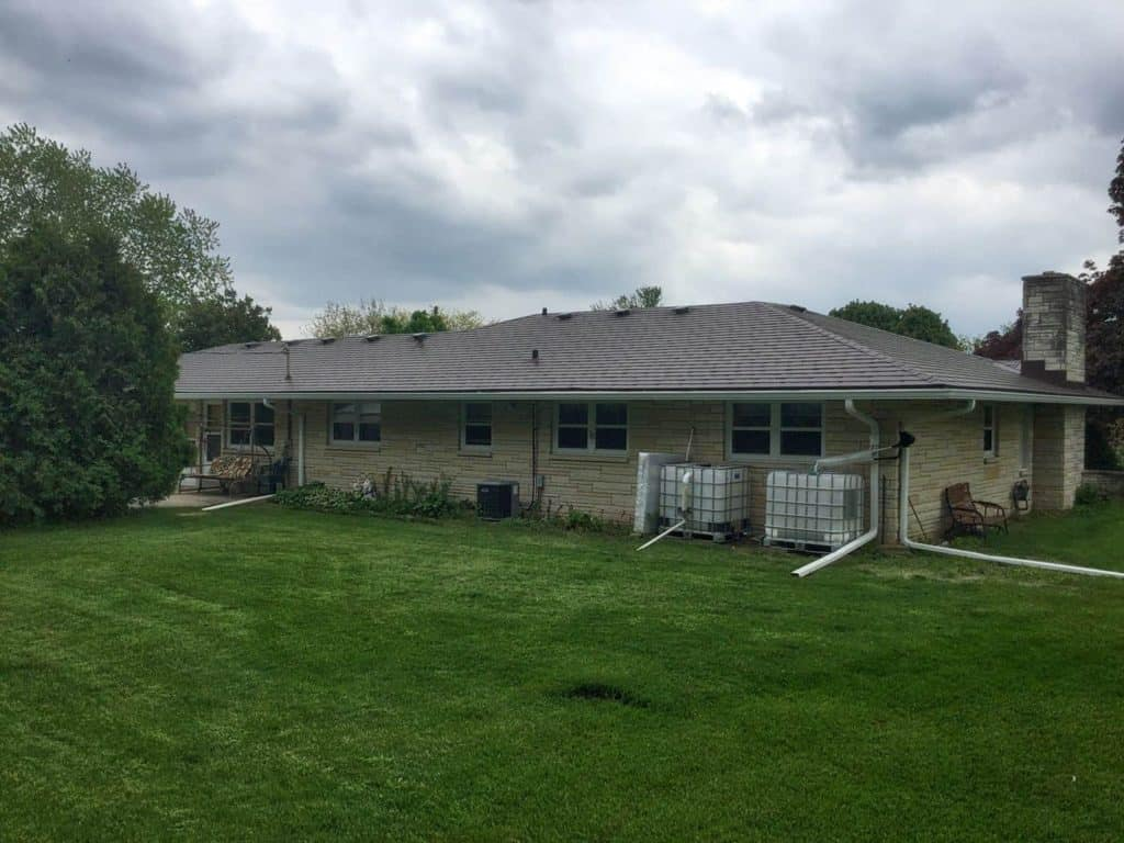 Kewaskum, WI USA Interlock Metal Roofing